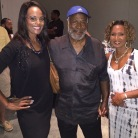 """Regina Mobley (Channel 13), John Amos aka James Evans on the tv show """"Good Times"""" and Queen"""