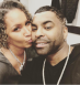 Birthday Kiss on Cheek for Ginuwine