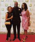 Kam Chancellor (NFL) and Regina Mobley (Ch.13 News)
