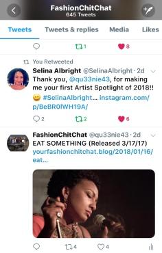 Spotlight on Selina Albright