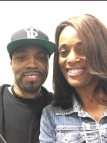 Teddy Riley (RnB Legend) & Regina Mobley (Ch13 News Anchor)