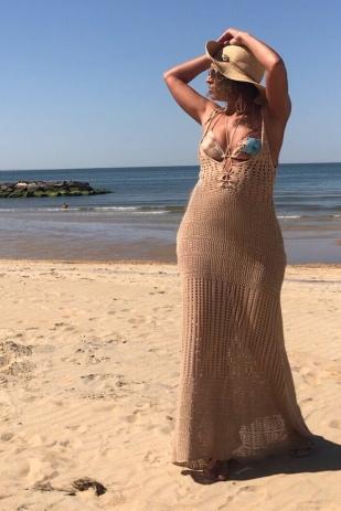 Mocha dress by Fashion Nova