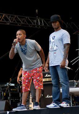 Pharrell Williams & Shay Haley