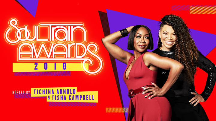 Tisha-Campbell-and-Tichina-Arnold-Host-2018-Soul-Train-Awards
