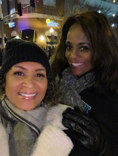 Queenie (Blogger) & Regina (BFF)