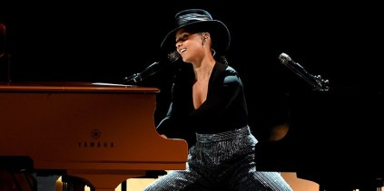 Alicia Keys Performs at the 2019 Grammys