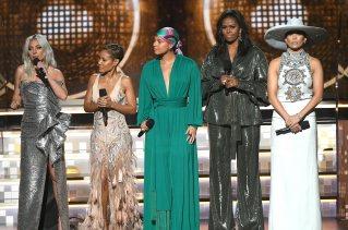 Lady Gaga, Jada Pinkett Smith, Alicia Keys and Jennifer Lopez