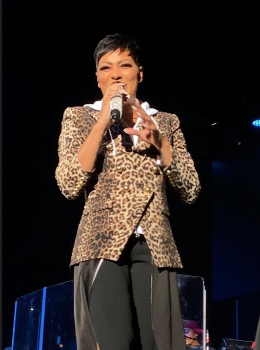 R&B Singer MONICA