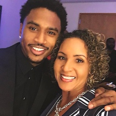 Trey Songz (Left)